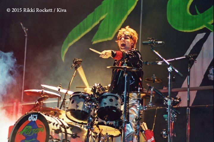 Rikki Rockett interview with Rise Up Eight