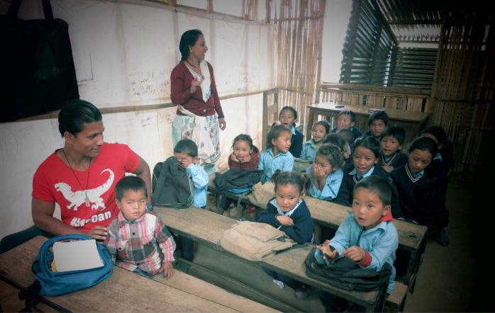 Inxchan helping children