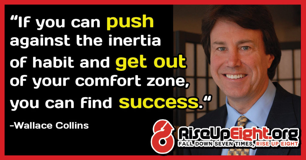 Getting Out of Your Comfort Zone to Achieve Success - When One Door Closes, Another One Needs To Be Pushed Open...